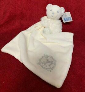 Kaloo Cream Perle Bear Comforter Soft Baby Soother Doudou Tags 2013