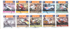 Motorcycles Used Manx Regional Stamp Issues