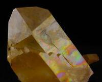 2.75 Inch Rainbow HEMATITE Iron Coated QUARTZ from Collier Creek, Arkansas 13469