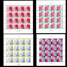 China 2020-10 玫瑰花 Rose Flower stamps full sheet