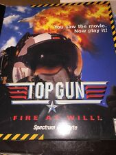 Top Gun: Fire At Will PC CD-ROM Game in Box Spectrum Computer gaming Sealed New!