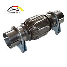 Flexrohr Hosenrohr Vorderrohr Katalysator Montage ohne Schweißen 50 x 100 x 210