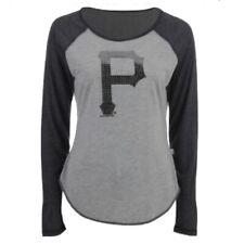 Pittsburgh Pirates Touch By Alyssa Milano Line Drive L Raglan T-Shirt $32