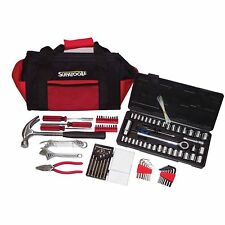 Supatool TOOL KIT S010005 105 Pieces + Canvas Bag, Portable & Ideal For Cars