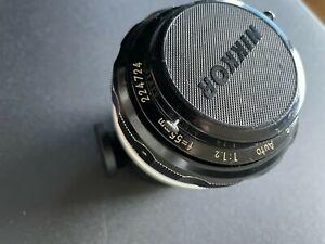 Nikon Nikkor 55mm f/1.2 lens