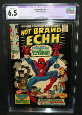 Not Brand Echh #2 - Batman, Robin, Thunder Agents Parody CGC Restored 6.5 - 1967