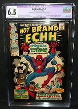 Not Brand Echh #2 - Batman, Robin, Thunder Agents Parody CGC Restored 6.5 - 1967