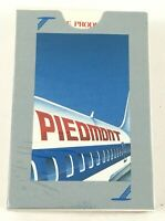 Piedmont Airlines Playing Cards. Sealed Deck. Featuring Boeing 737. Great Shape!
