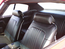 1971-1972 EL CAMINO STANDARD INTERIOR KIT BLACK