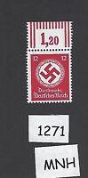 #1271    MNH WWII emblem Postage stamp / 1942 PF12 / From an original sheet