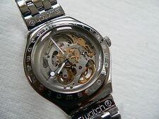 1997 Irony Swatch watch Automatic Body & Soul YAS100G Mechanical movement New