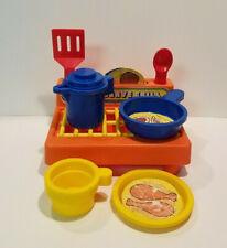 Playskool Cook & Serve Grill vintage 1977 kitchen set