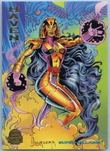 1994 Marvel Universe Super-Villains Haven #102 Card