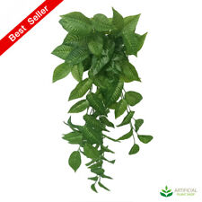 Artificial Fake Plants Hanging Zebra Bush 95cm (pack of 6)