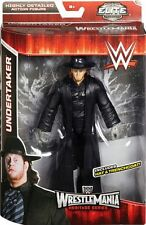 WWE Elite The Undertaker Wrestling figure Wrestlemania exclusive WWF Mattel toys