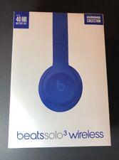 Beats by Dr Dre Solo 3 Wireless Headphone [ Neighborhood Break BLUE ] NEW