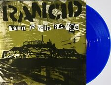 "Punk RANCID 7"" Turn In Your Badge TOUR EDITION ! BLUE Vinyl 2014 UNPLAYED"