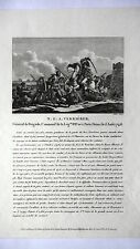 GRAVURE ANCIENNE 19e - N. G. A. VERRIERES - GENERAL DE BRIGADE
