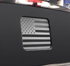 Ford F150 / f250 / f350 Back Middle Window American Flag Decal 2015-2018