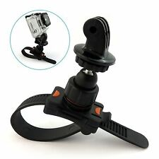 Roll bar zip mount pour GoPro Hero 2 3 3+ 4 5 pour cage guidon tige de selle vélo