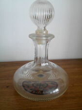 ancienne carafe vide ou carafon Avon ancient mariner wild country vintage rare