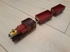 Thomas Trackmaster Lady Train with matching trucks, RARE, battery operated