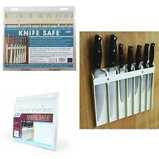 Kitchen Wall Knife Holder Cutlery Utensil Storage Cabinet Door Mount Organizer