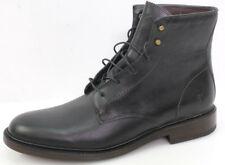 Frye James Lace Up Gr48 Herren Schuhe Stiefel Boots Stiefeletten Canavas Schwarz