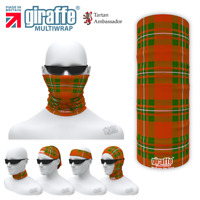 MacGregor Clan Tartan Face mask Neck Tube Scarf Bandana Motorbike Cycle
