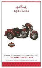 2013 Hallmark Harley Davidson Motorcycle Milestones 2011 Street Glide Trike!