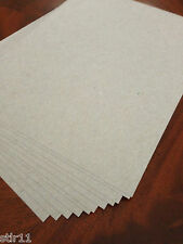 Chipboard (Tan Color) - 200 sheets  * GREAT for SHIPPING * 8.5 x 11   .022 Mil.