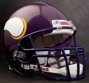 RANDY MOSS Edition MINNESOTA VIKINGS Riddell AUTHENTIC Football Helmet