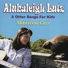 Audio CD Alukaleigh Lutz & Other Songs for Kids - Carr, Maureen - Free Shipping