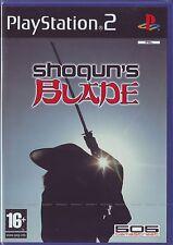 SHOGUN'S BLADE (2005) PS2 PAL ITA ORIGINALE NUOVO SIGILLATO