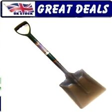LIGHTWEIGHT WIDE SQUARE MOUTHED SNOW SHOVEL SCOOP SPADE