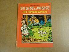 STRIP 1° DRUK VIERKLEURENREEKS / SUSKE EN WISKE N° 98 - HET HONDENPARADIJS