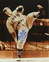 Bob Feller Autographed/Signed 8x10 Photo
