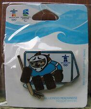 Quatchi Ice Hockey Van 1259 AUTHENTIC Vancouver 2010 Winter Olympic PIN