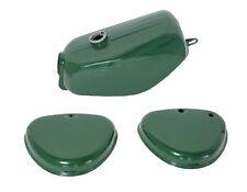 Lackset Tank + Seitendeckel grün pas. für Simson S51 S50 S70 Kraftstoffbehälter