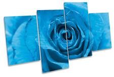 Blue Floral Original Art Prints