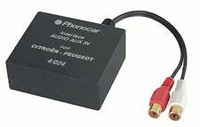 Audio-interface CD Changer Connections Mini ISO-RCA Citroen >'06 Xara-Picasso-C