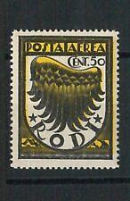 66190 - ITALIA colonie - EGEO RODI  Sass # 30caa VARIETA' -  Non linguellato