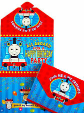 THOMAS & FRIENDS BIRTHDAY PARTY INVITATIONS - PARTY ITEMS PACK OF 10