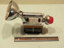 Vintage Rayovac Sportsman Lantern with Red Flasher, with Battery - Works