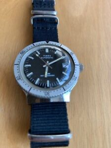 Vintage Timex Automatic Diver, Crystal in great shape.