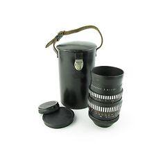 Für M42 Meyer Optik Zebra Orestor 2.8/135 Objektiv / lens 15 blades + case