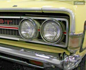 4x Headlight Ford Ranchero Custom Deluxe 500 Squire Yr 58-77 Retrofitting US Eu