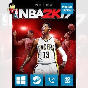 NBA 2K17 for PC Game Steam Key Region Free