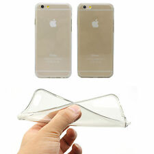 New Ultra Thin Crystal Clear Soft TPU Back Case Skin For Apple iPhone 4/4S