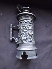 MINIATURE TABLE LIGHTER, NOVELTY FLAGON SHAPPED, GREAT STYLE, 1890 GERMAN